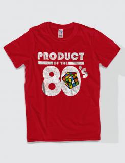 Μπλουζάκι με στάμπα Product of the 80's