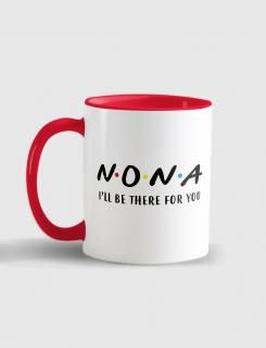 Κούπα κεραμική με τύπωμα Νονά I'll be there for you