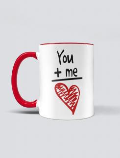 Κούπα κεραμική με τύπωμα You & me