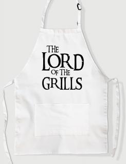 Ποδιά Μαγειρικής με τύπωμα Lord of the Grills