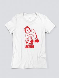 Μπλουζάκι με στάμπα Mom
