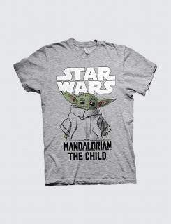 Μπλουζάκι με τύπωμα Mandalorian child