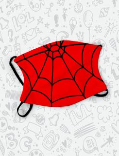 Μάσκα παιδική με τύπωμα  Spider mask