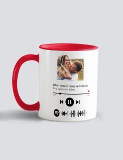 Κούπα κεραμική με τύπωμα Love Song