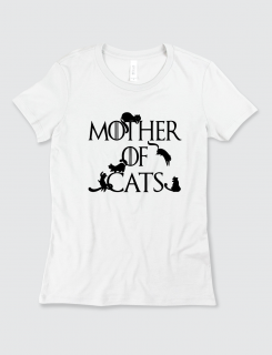 Μπλουζάκι με τύπωμα Mother of Cats