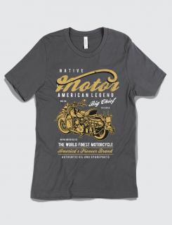 Μπλουζάκι με τύπωμα Motor Legend