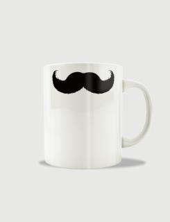 Κούπα κεραμική με στάμπα Hipster moustache