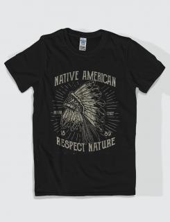 Μπλουζάκι με στάμπα Native American
