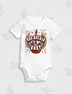 Παιδικό φορμάκι με στάμπα One rocking baby
