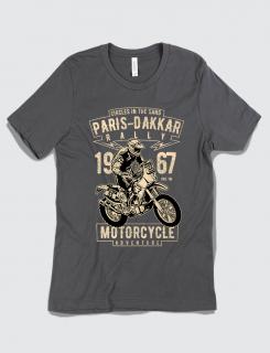 Μπλουζάκι με τύπωμα Paris Dakkar Rally