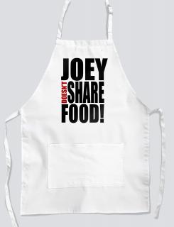 Ποδιά μαγειρικής με Joey doesn't share food