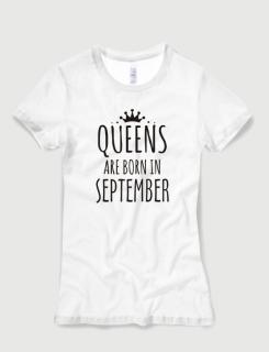 cc56eff43cda Μπλουζάκι με στάμπα Queens are born in September