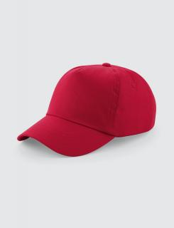 καπελάκι jockey σε χρώμα κόκκινο