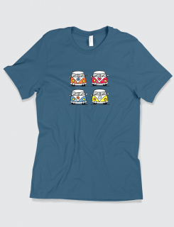 Μπλουζάκι με τύπωμα Retro vans