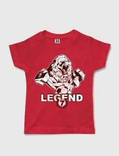 Μπλουζάκι με στάμπα Legend 7
