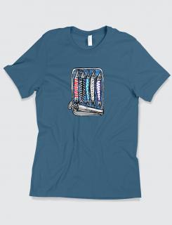 Μπλουζάκι με τύπωμα Sardines