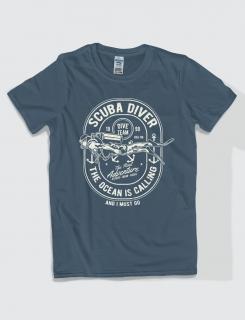 Μπλουζάκι με στάμπα Scuba Diver