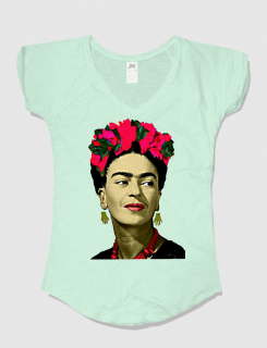 Μπλουζάκι με τύπωμα Frida