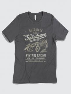 Μπλουζάκι με τύπωμα Speedrace
