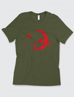Μπλουζάκι με στάμπα Red stars