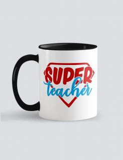 Κούπα κεραμική με τύπωμα Super Teacher