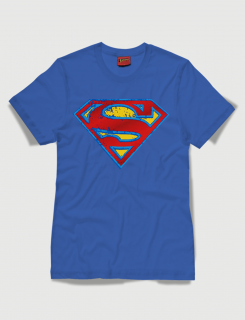 Superman distressed logo