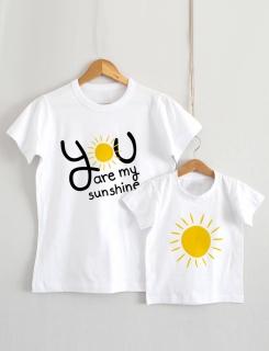 Μπλουζάκια με τύπωμα Family Sunshine