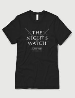Μπλουζάκι με στάμπα The nights watch