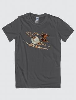 Μπλουζάκι με στάμπα Thunder monster