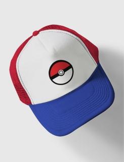 Καπέλο με τύπωμα Pokeball