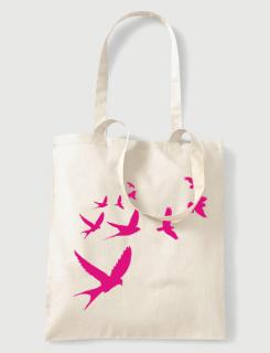 Υφασμάτινη τσάντα Flying Birds