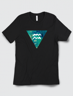 Μπλουζάκι με τύπωμα Υδροχόος