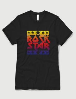 Μπλουζάκι με στάμπα Rock Star