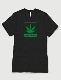 Μπλουζάκι με στάμπα Vegetarian