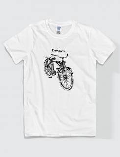 Μπλουζάκι με στάμπα Dreams