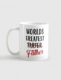 Κούπα με τύπωμα Worlds greatest father