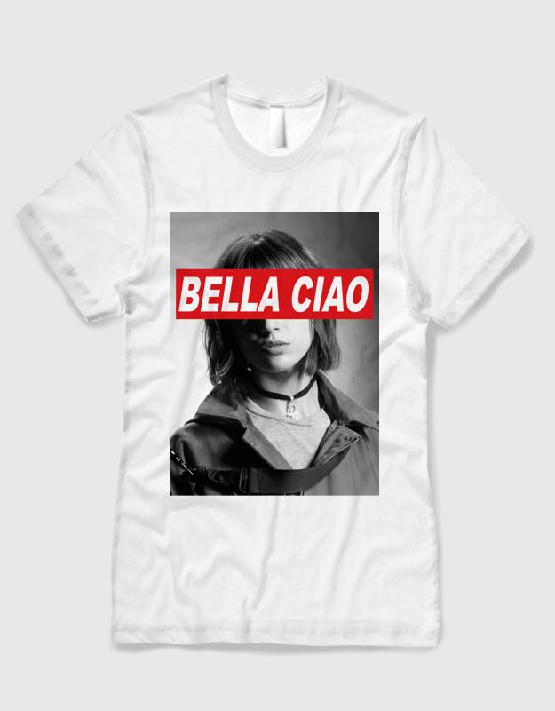 163ca40b1ba5 Μπλουζάκι με τύπωμα Bella Ciao Tokio