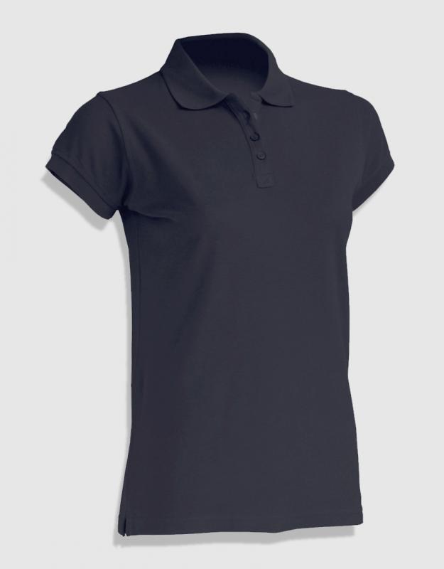 0fca2ed1f379 JHK ladies polo. γυναικείο μπλουζάκι πόλο μαύρο