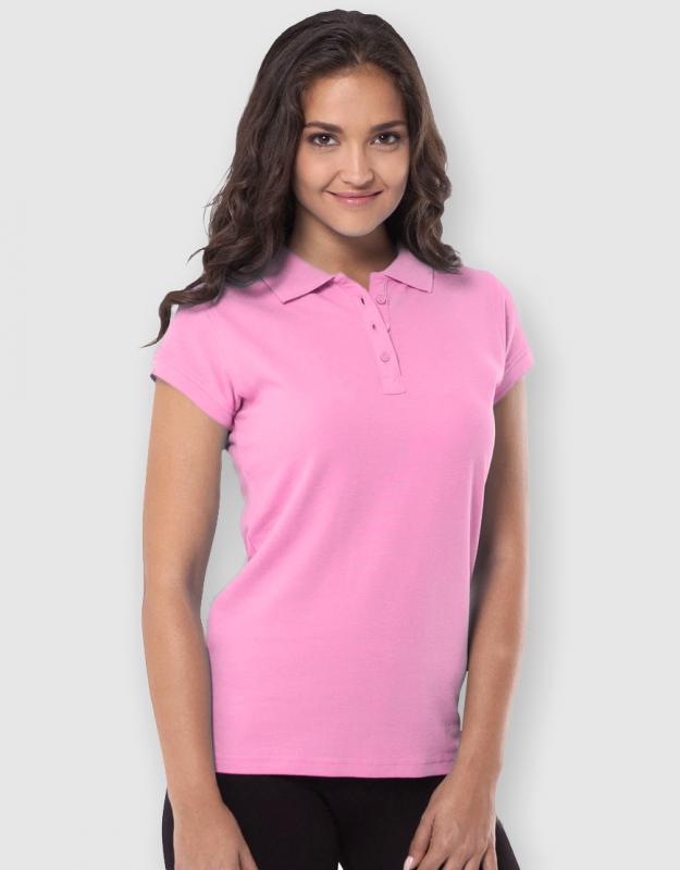 784ffd1ea1f1 JHK ladies polo. γυναικείο μπλουζάκι πόλο ροζ