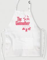 Ποδιά Μαγειρικής με τύπωμα The Godmother