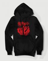 Premium hoodie με τύπωμα Stranger Things - Upside Down