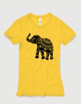 Μπλουζάκι με στάμπα Indian Elephant