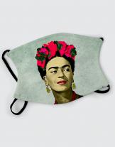Μάσκα με εκτύπωση Frida
