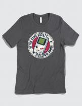 Μπλουζάκι με τύπωμα Retro Game Society