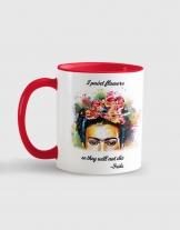 Κούπα κεραμική με εκτύπωση Frida Flowers