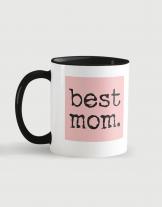 Κούπα κεραμική με τύπωμα Best mom