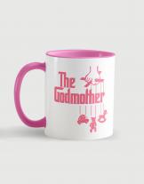 Κούπα κεραμική με τύπωμα The godmother
