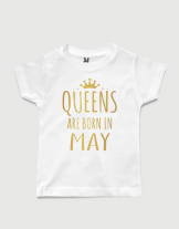 38a65deea0ea Queens are born in May | Funky T-shirt | Στάμπες Μπλουζάκια Εκτύπωση