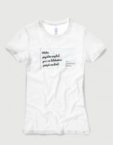 Μπλουζάκι με στάμπα Θέλει μεγάλη καρδιά για να διδάσκεις μικρά παιδιά