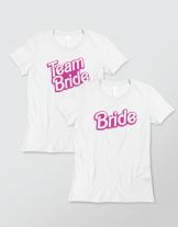Μπλουζάκι με τύπωμα Team Bride